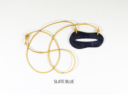 Creo Necklace - Slate Blue