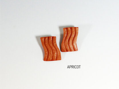 Fio Earrings - Apricot