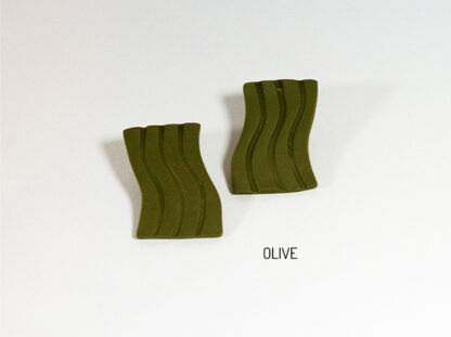Fio Earrings - Olive