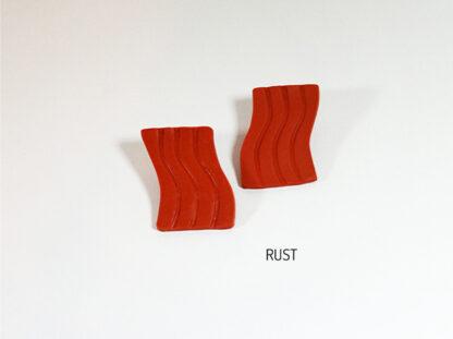 Fio Earrings - Rust