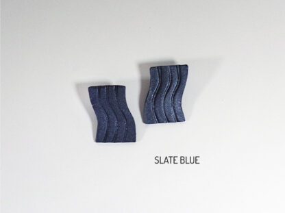 Fio Earrings - Slate Blue