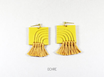 Lola Earrings - Ochre
