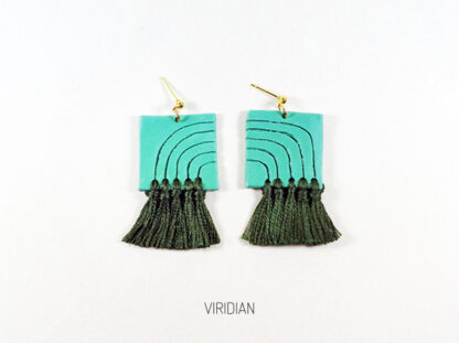 Lola Earrings - Viridian