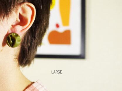 Novo Earrings - Large in Ear