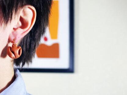 Plico Earrings - In Ear