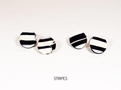 Virgo Moon Earrings - Stripes