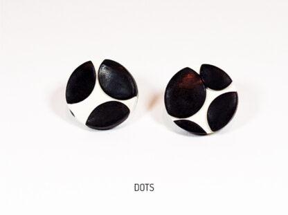 Virgo Moon Earrings - Dots