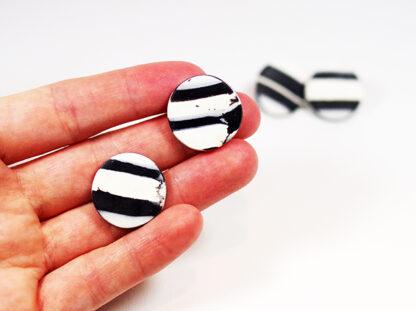Virgo Moon Earrings in Hand