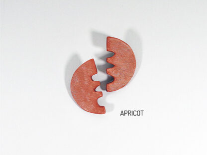 Vita Earrings - Apricot