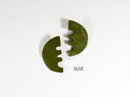 Vita Earrings - Olive