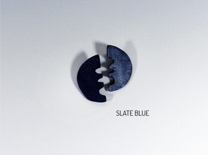 Vita Earrings - Slate Blue