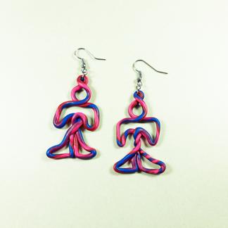 Figure Mini Earrings
