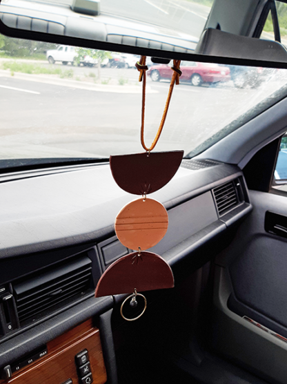 Totto style displayed in car