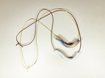 Wavering Necklace both colors
