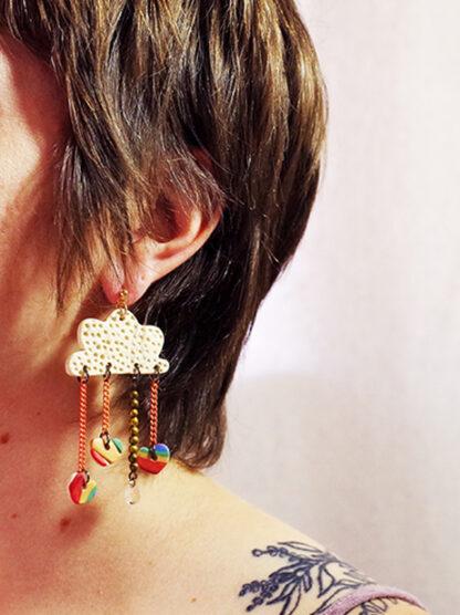Daydreamer Earrings - In Ear