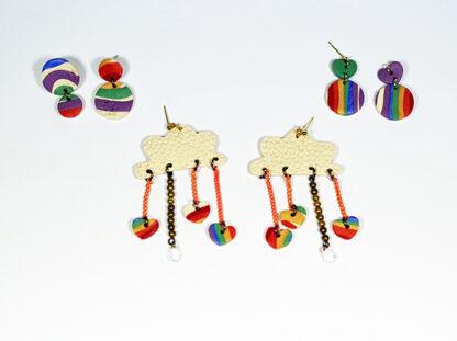 Daydreamer Earrings - With Other Earrings