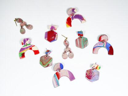 Marbled Haze Earrings