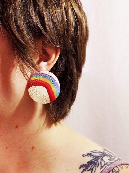 Stardust Earrings - In Ear